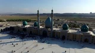 دانلود رایگان فیلم خام هوایی از مسجد مقدس جمکران شماره 1 ( بدون آرم و نوشته مخصوص تدوین ) FullHD | ثائر thaer.ir