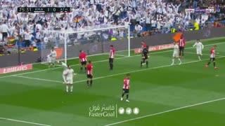 گل دوم رئال مادرید به اتلتیک بیلبائو توسط بنزما