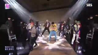 اجرای عالی و بامزه Dionysus از BTS امروز در Inkigayo *~* جدید