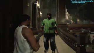 ویدئویی جالب از حضور CJ و Big Smoke در بازی Resident Evil 2 Remake