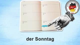 آموزش روزهای هفته به آلمانی - میگریت جرمنی