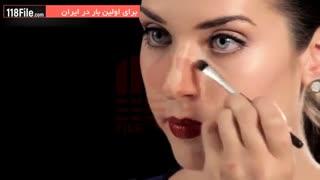 ترفندهای گریم بینی-نازک نشان دادن بینی