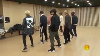 طراحی و تمرینات آهنگ Boy With Luv از BTS ♡~♡