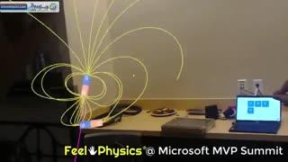برنامه واقعیت افزوده آموزش فیزیک