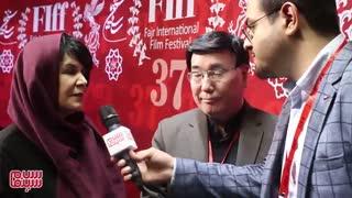 مصاحبه سلام سینما با آقای سوسویی کارگردان و شهره گلپریان تهیه کننده ژاپنی فیلم مهمانخانه ماه نو