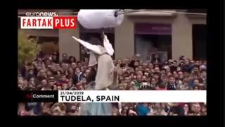 نمایش خاص عید پاک در اسپانیا