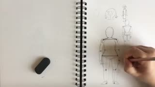 How to draw figures out of simple shapes
