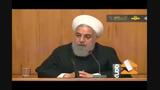 روحانی: اول پشیمان کردن آمریکا بعدا مذاکره