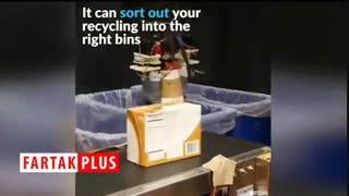 رباتی که توانایی تفکیک زبالهها را دارد