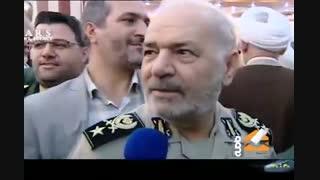 حاشیههای مراسم معارفه فرمانده جدید سپاه