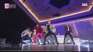 اجرای Dionysus از BTS در Inkigayo