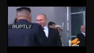 دیدار رهبر کره با پوتین
