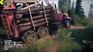Spintires MudRunner American Wilds gameplay tehrancdshop.com