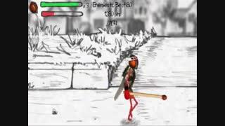 7 دقیقه گیم پلی بازی جذاب و طنز و ورزشی مگس کونگ فوکار(فلای فو) Fly Fu برای کامپیوتر