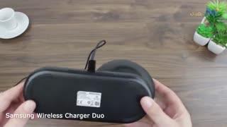 ویدئوی بررسی شارژر بی سیم سامسونگ مدل Duo