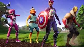 تریلر همکاری فورتنایت با مارول Fortnite X Avengers Endgame
