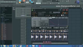 استفاده همزمان از اجزای دو لوپ در اف ال استودیو