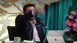سخنرانی جنجالی رائفی پور : فریب افکار عمومی و حمله به فوتبال و صدا وسیما و علت اجازه ورود به رائفی پور ندادن
