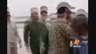 امدادرسانی سردار در مناطق سیل زده