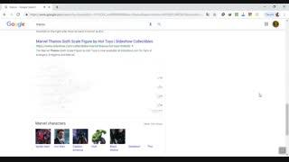 به گوگل برید و کلمه تانوس (thanos) رو سرچ کنید و بعد روی دستی که میاد بزنید ، و ببینید چی میشه