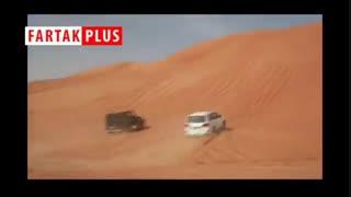 رقابت شاسیبلندهای بنز، نیسان و تویوتا در شیب کویر