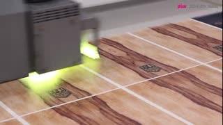 مراحل ساخت کاخن (چاپ روی چوب و برش لیزری)