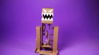 خرید فیلم آموزش ساخت ربات ترسناک اسباب بازی برای کودکان