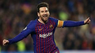گل اول بارسلونا به لوانته توسط لیونل مسی