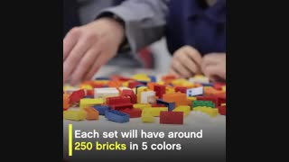 محصولی متفاوت برای کودکان نابینا؛ آموزش بریل با لِگو (+تصاویر)
