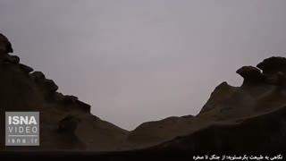 طبیعت بکر عسلویه؛ از جنگل تا صخره