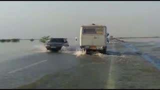 وضعیت جاده اهواز به آبادان
