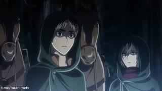 انیمه حمله به تایتان ها فصل سوم قسمت 13 Shingeki no Kyojin Season 3 Part 2 زیرنویس فارسی