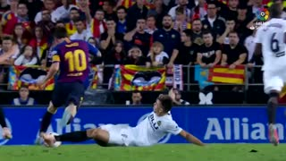 حرکات تکنیکی بازیکنان بارسلونا در فصل 2018-2019 لا لیگا اسپانیا