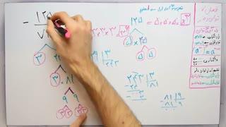 ریاضی 8 - فصل 7 - بخش 4 : نکات حل و ساده کردن توان و رادیکال