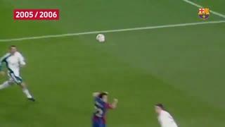 گلهای برتر بارسلونا به لیورپول