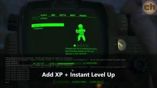 دانلود چیت و ترینر بازی Fallout 4 همراه با +25 کدترینر با آموزش تصویری
