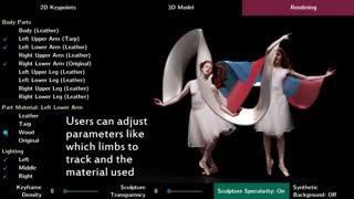 پرینتر سه بعدی و مجسمه سازی حرکات ظریف