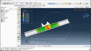 شبیهسازی هیدروفرمینگ لوله در ABAQUS
