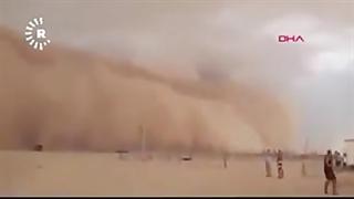 طوفان آخرالزمانی شن در عراق با ۸۵ کشته و زخمی