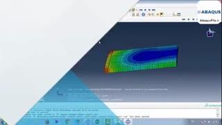 آموزش جامع تحلیل اندرکنش خاک و سازه در ABAQUS