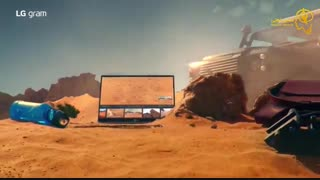تیزر تبلیغاتی لپ تاپ LG Gram 2019