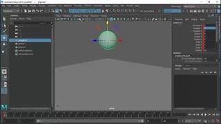 Animate in maya : آموزش انیمیت در مایا