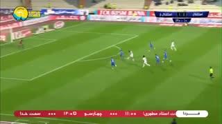 خلاصه بازی استقلال 4_2 استقلال خوزستان (هفته بیستوهشتم لیگ برتر ایران)
