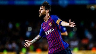 گل دوم بارسلونا به لیورپول توسط لیونل مسی