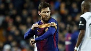 گل سوم بارسلونا به لیورپول با ضربۀ بینظیر لیونل مسی در دقیقه 82