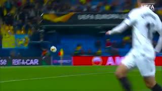دور برگشت یکچهارم نهایی لیگ اروپا در 90 ثانیه