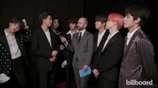 BTS Win Top Duo_Group - Backstage Interview - BBMAs 2019 - YouTube