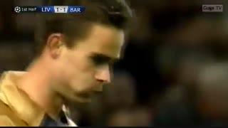 کلاسیک؛ لیورپول 1_3 بارسلونا ( لیگ قهرمانان اروپا 2001-2002)