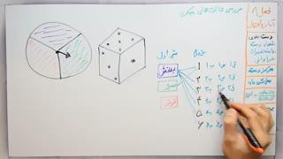 ریاضی 8 - فصل 8 - بخش 4 : بررسی حالت های ممکن در احتمالات