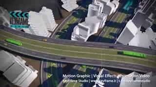 تیزر انیمیشن کنفرانس بین المللی حمل و نقل